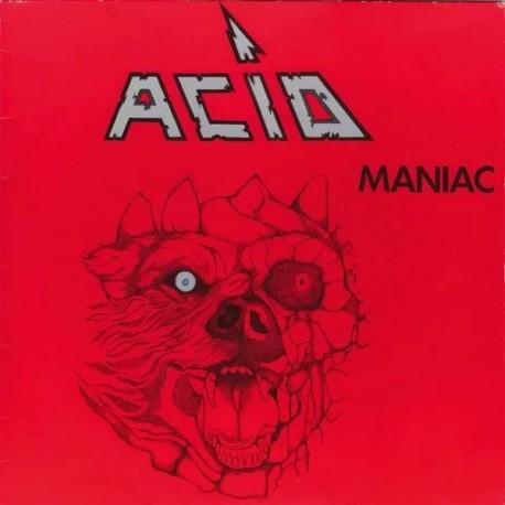 "Acid - Maniac (LTD Red Vinyl + 7"")"