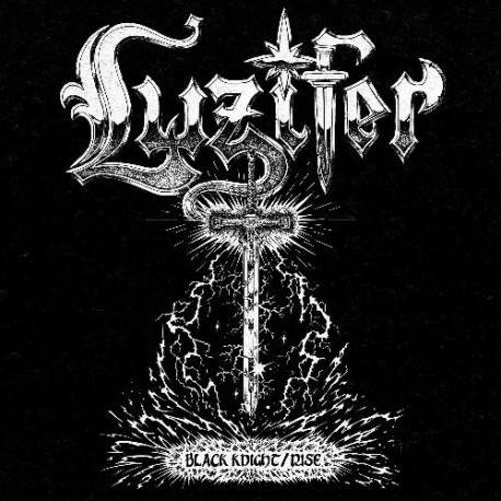 Luzifer - Black Knight / Rise (White Vinyl)