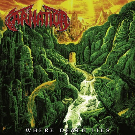 Carnation - Where Death Lies (LTD Red Vinyl)