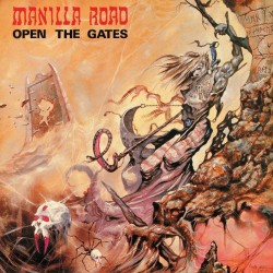 Manilla Road - Open The Gates (White/Grey Splatter Vinyl)