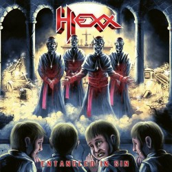 Hexx - Entangled In Sin (Red Vinyl)