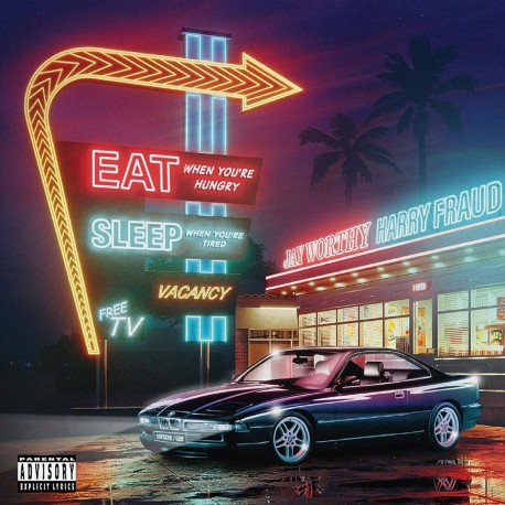 Jay Worthy / Harry Fraud - Eat When You're Hungry, Sleep When You're Tired (LTD Purple Vinyl)