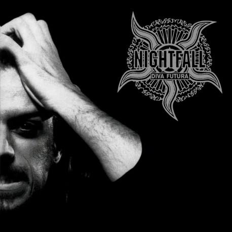 Nightfall - Diva Futura (Silver & Black Vinyl)