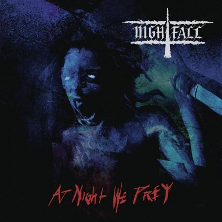 Nightfall - At Night We Prey (Blue & White Vinyl)