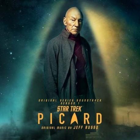 Jeff Russo - Star Trek Picard Soundtrack Season 1) (Green Spatter Vinyl)