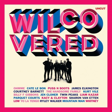 Various - Wilcovered (Red Vinyl)