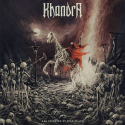Khandra - All Occupied By Sole Death (Gold / Red Vinyl)