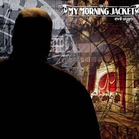 My Morning Jacket - Evil Urges (Creame With Black Blob Vinyl)