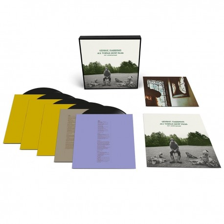 George Harrison - All Things Must Pass (50th Ann 5LP Deluxe Box)