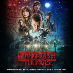 Kyle Dixon And Michael Stein - Stranger Things Soundtrack Vol 2 (LTD Frost With Red/Black Blob Vinyl)