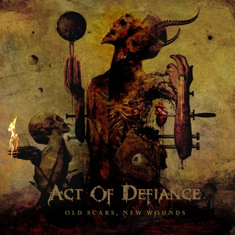 Act Of Defiance - Old Scars, New Wounds (LTD Auburn Marbled Vinyl)