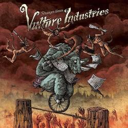 Vulture Industries - Stranger Times (LTD Transparent Blood Red Vinyl)