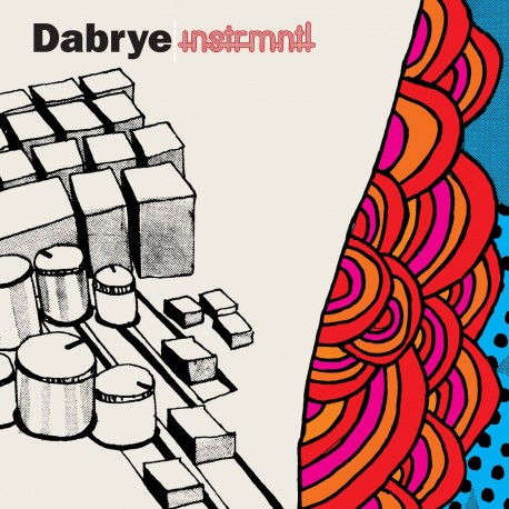 Dabrye - Instrmntl (Blue Vinyl)