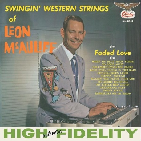 Leon Mcauliffe - Swingin' Western Strings Of Leon Mcauliff