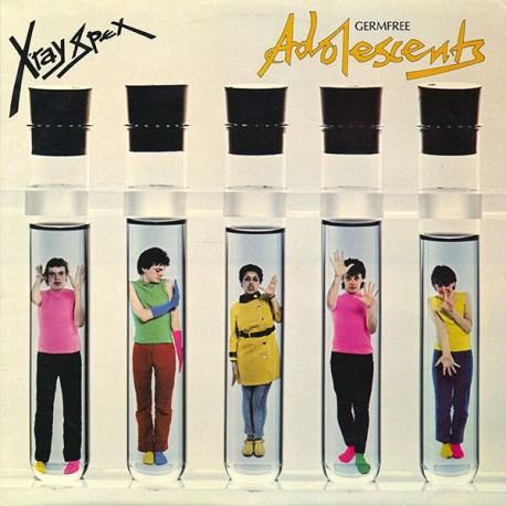 X-Ray Spex - Germfree Adolescents (LTD X-Ray Clear Vinyl)