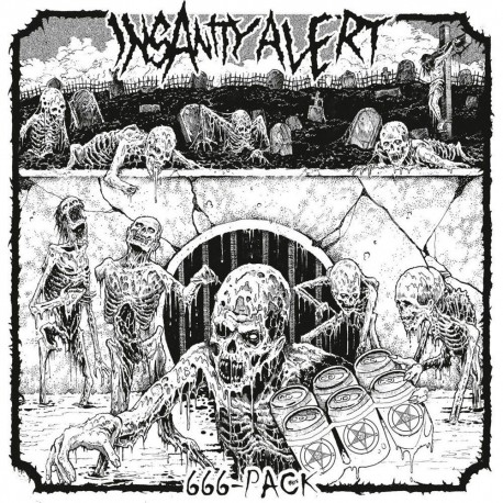 Insanity Alert - 666-Pack (Clear Vinyl)
