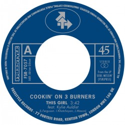 Cookin' On 3 Burners - This Girl B/W Four 'n Twenty