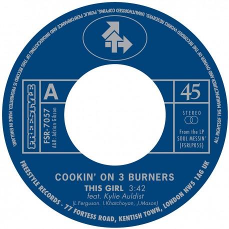 Cookin' On 3 Burners - This Girl B/W Four 'n Twenty