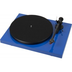 Pro-Ject Debut Carbon Turntable With Ortofon 2M Red Cartridge - Glossy Blue