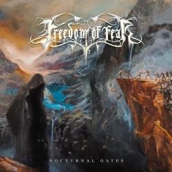 Freedom Of Fear - Nocturnal Gates (LTD Black Smoke Coloured Vinyl)