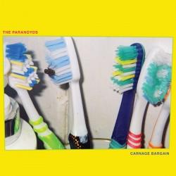 The Paranoyds - Carnage Bargain (LTD Blue Vinyl))