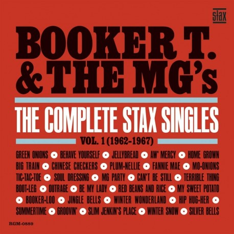 Booker T & The Mg's - The Complete Stax Singles, Vol. 1 (1962-1967) (LTD Blue)
