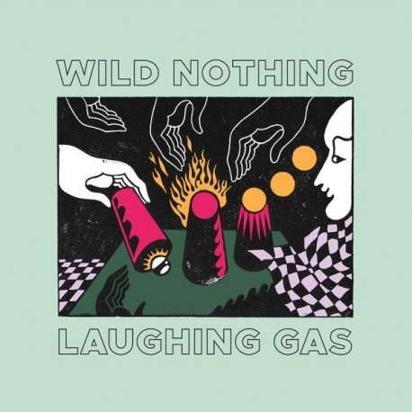 Wild Nothing - Laughing Gas (Milky Clear Vinyl)