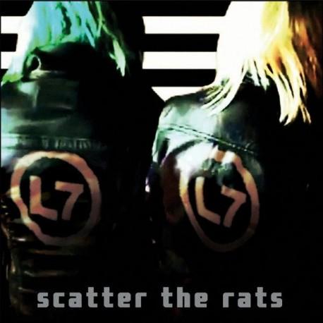 L7 - Scatter The Rats (LTD Coke Bottle Clear Vinyl)