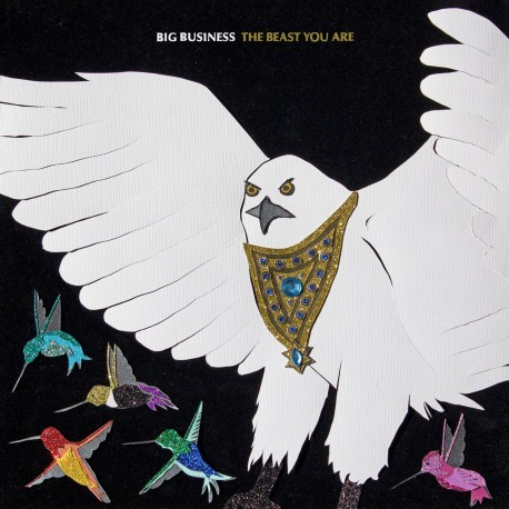Big Business - The Beast You Are (Bone Coloured Vinyl)