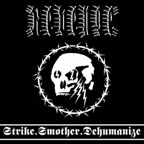 Revenge - Strike.Smother.Dehumanize (Crystal Clear / White Marble Vinyl)